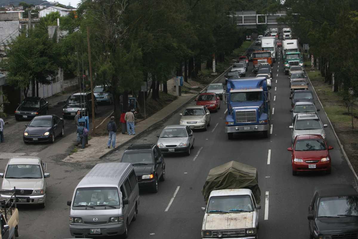 Anuncian reparación y cambio de asfalto en tres principales vías de la Ciudad de Guatemala