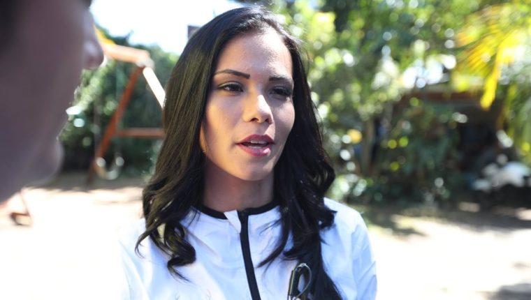 Laura Bariatti, fisioterapeuta de Suchitepéquez, habló de la complicada situación que atraviesa el equipo venado. (Foto Prensa Libre: Edwin Fajardo)