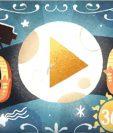 Google estrenó su primer doodle de Realidad Virtual y 360° como tributo a Georges Méliès. (Foto Prensa Libre: Google Spotlight Stories).