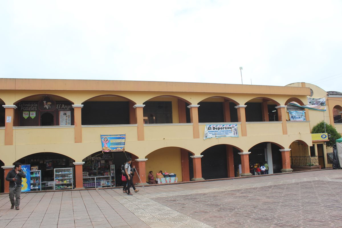 Área urbana de Santa Clara La Laguna, Sololá. (Foto Prensa Libre: Ángel Julajuj).
