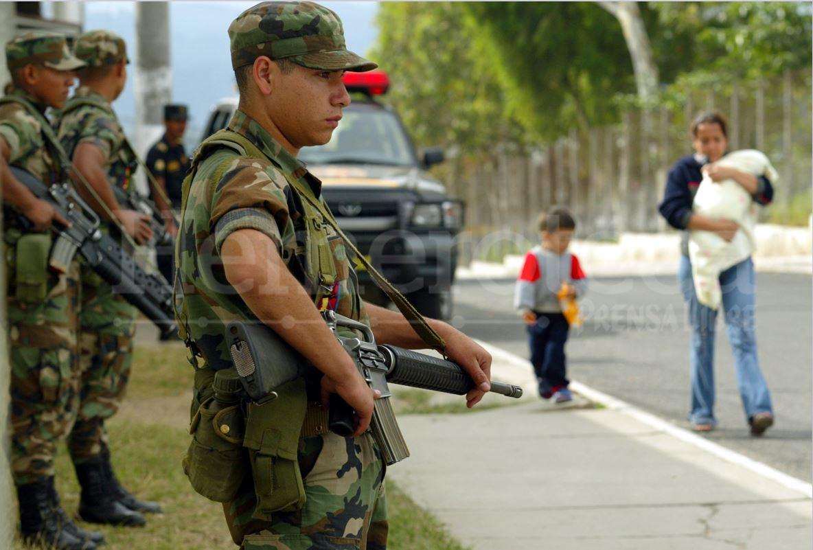 Expectativa por retiro de las fuerzas del Ejército de las calles