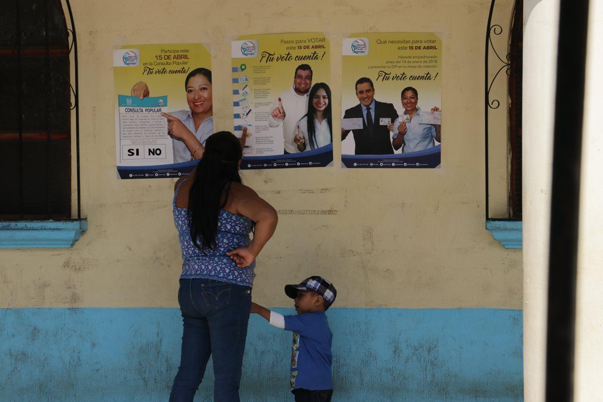 Centros de votaciones de Chimaltenango ya están listos para la Consulta Popular