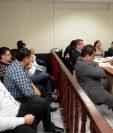 Audiencia de fase intermedia contra implicados en el caso Agua Miel. (Foto Prensa Libre: Hemeroteca PL)