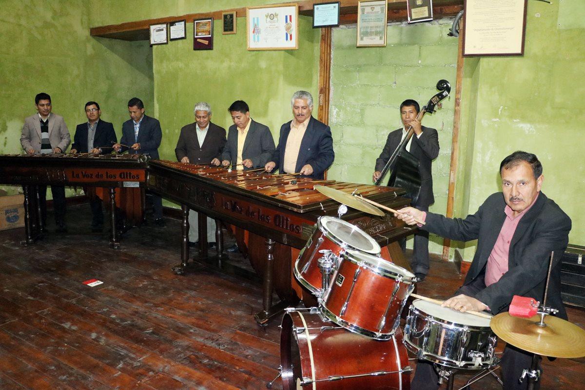 Quetzaltecos conmemoran el Día de la Marimba con concierto