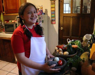 Niña quetzalteca destaca en arte culinario
