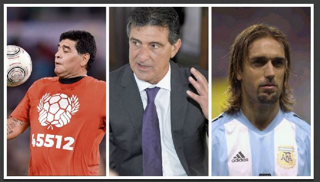 Figuras históricas del futbol argentino critican a la selección de Messi