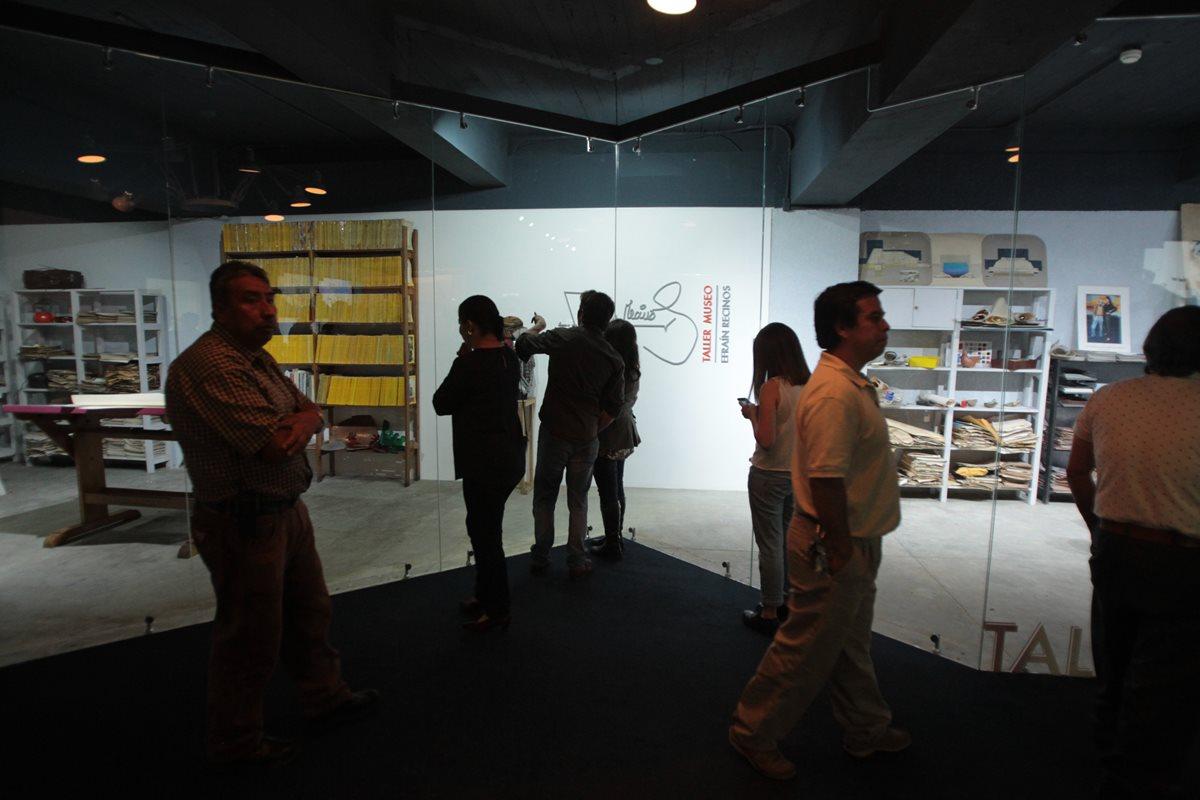 Ya se puede visitar el museo que alberga objetos de Efraín Recinos. (Foto Prensa Libre: Ángel Elías)