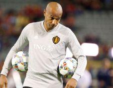 El francés Thierry Henry dejó la selección de Bélgica para dirigir al Mónaco. (Foto Prensa Libre: AFP).