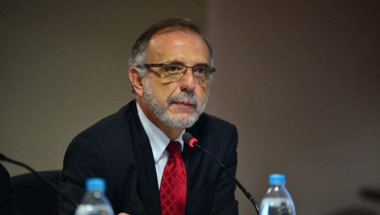 Iván Velásquez, comisionado de la Cicig, partipa actualmente en foros y conferencias en El Salvador. (Foto referencial: AFP)