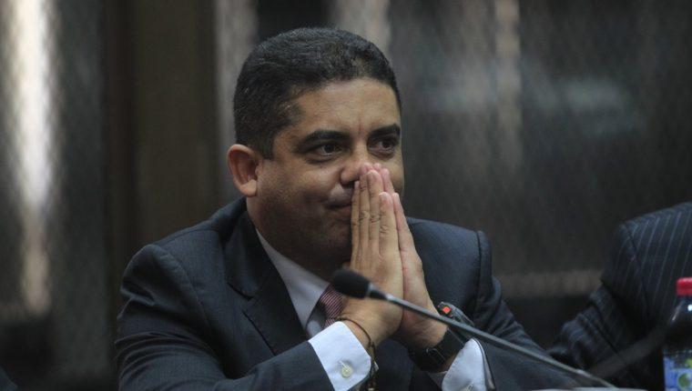 Juan Carlos Monzón era el secretario privado de Roxana Baldetti. (Foto Prensa Libre: Hemeroteca PL)