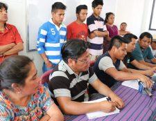 La Multisectorial K´iche´ informa que bloqueará los ingresos principales a Santa Cruz del Quiché y la carretera al norte del departamento. (Foto Prensa Libre: Héctor Cordero)