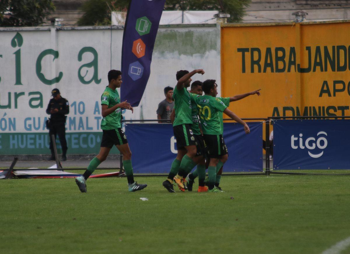Deportivo Guastatoya golea a Chiantla con un gran desempeño de sus juveniles
