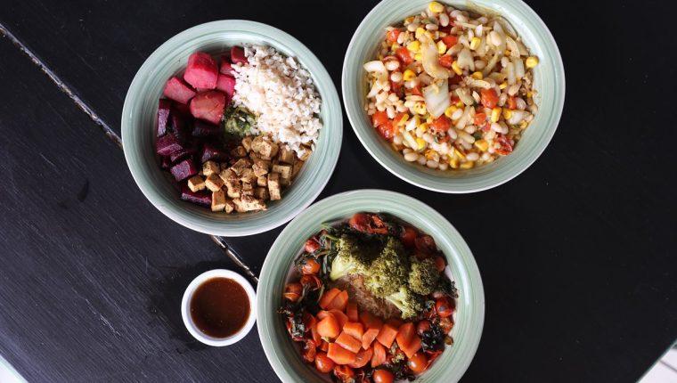 Tres ricas y sustanciosas recetas, bajas en grasas y altas en nutrientes variados. (Foto Prensa Libre, Brenda Martínez).