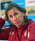 Los convocados de la selección peruana viajarán con Gareca el próximo 5 de noviembre a Nueva Zelanda. (Foto Prensa Libre: AFP)