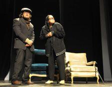 El musical presenta escenas cotidianas, y es dirigida por el mexicano Ricardo Díaz. (Foto Prensa Libre: Ana Lucía Ol)