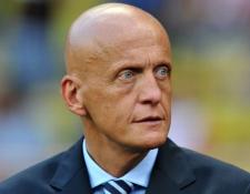 El italiano Pierluigi Collina será el encargado de la Comisión de Árbitros de Fifa. (Foto Prensa Libre: Internet)