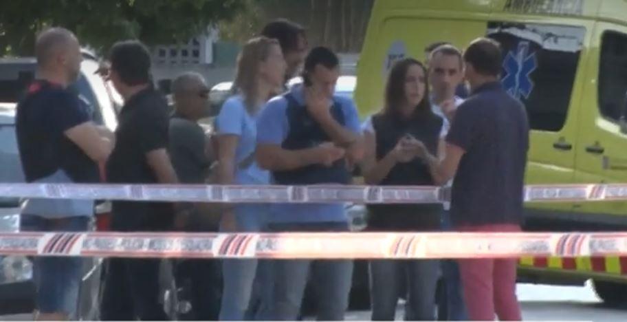 La tarde de este sábado, un hombre mató a su esposa y atropelló a su hija, en Girona, España. (Foto Prensa Libre: antena3noticias.com)