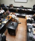 Sala de Mayor Riesgo B, en el nivel 14 de la Torre de Tribunales. (Foto Prensa Libre: Hemeroteca PL)
