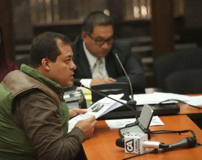 Diputado Julio Juárez se declara inocente del asesinato de dos periodistas en Mazatenango