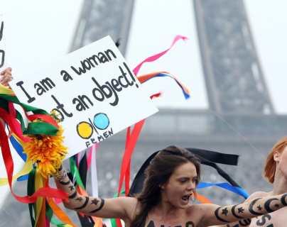 Hallan muerta en París a una cofundadora del grupo feminista Femen