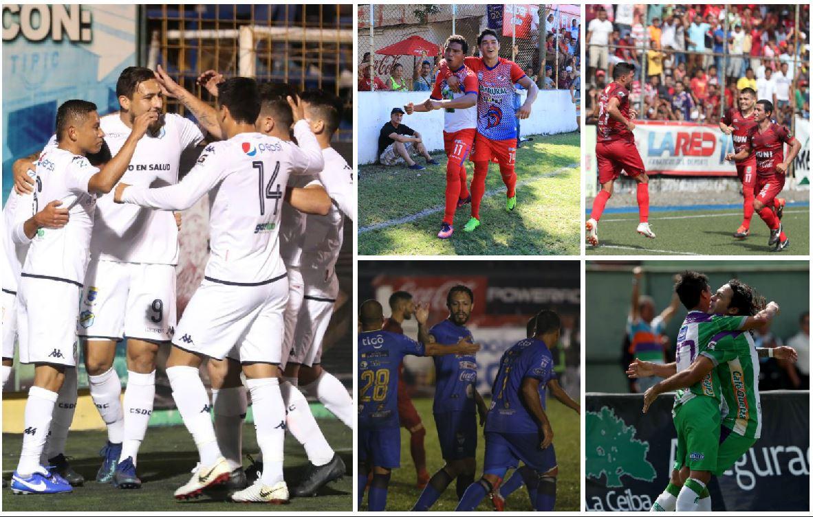 Comunicaciones, Xelajú, Malacateco, Cobán y Antigua definen posiciones. (Foto Prensa Libre).