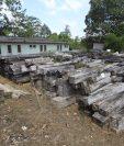 La sede regional sur del Consejo Nacional de Áreas Protegidas almacena la madera como evidencia de que ha sido decomisada a los contrabandistas. (Foto Prensa Libre: Hemeroteca PL)