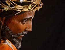 La hermandad de Jesús de los Milagros se fundó hace 280 años en Santiago de Guatemala. (Foto Prensa Libre: Jorge Ordóñez)