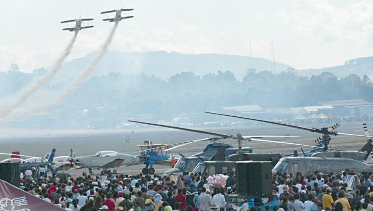 Las acrobacias aéreas serán la atracción principal del evento en Barberena, Santa Rosa. (Foto Hemeroteca PL)