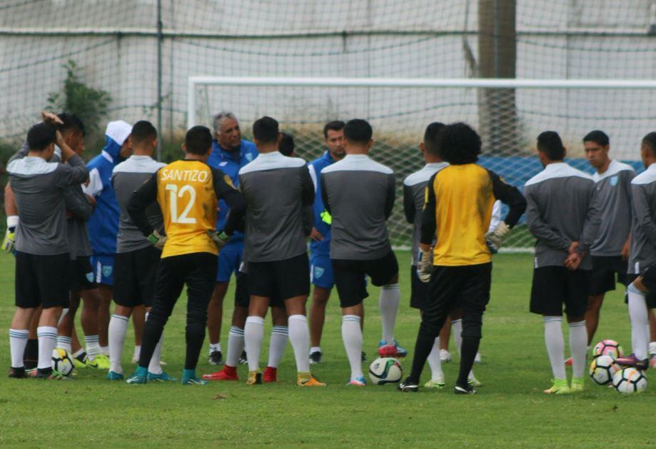 Guatemala se alista para afrontar su primer reto oficial después de la suspensión de la Fifa. (Foto Fedefut).