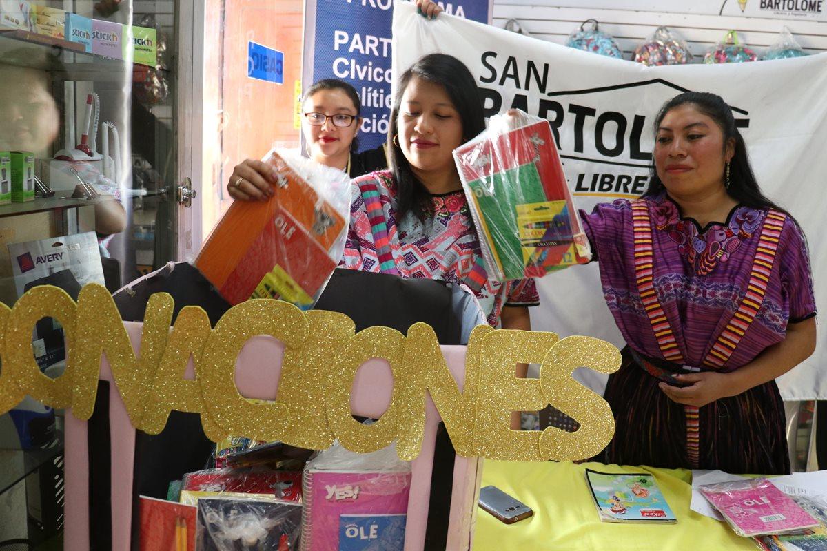 Comienza recolección de útiles para niños de escasos recursos en Xela