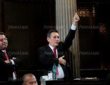 Diputado Roberto Villate acciona contra jueza y consigue retrasar antejuicio. (Foto Prensa Libre: Hemeroteca PL)