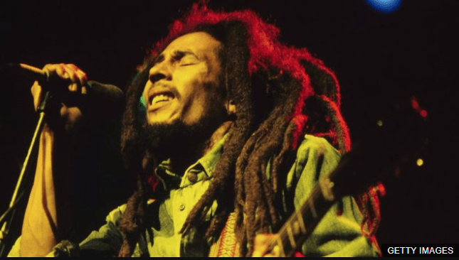 Bob Marley estuvo en Dublín como parte de su gira europea en 1980. (Foto Prensa Libre: BBC News Mundo)