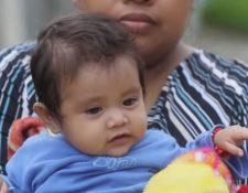 La niña guatemalteca Esmeralda fue rescatada entre los escombros luego de la erupción del Volcán de Fuego, en junio de 2018.