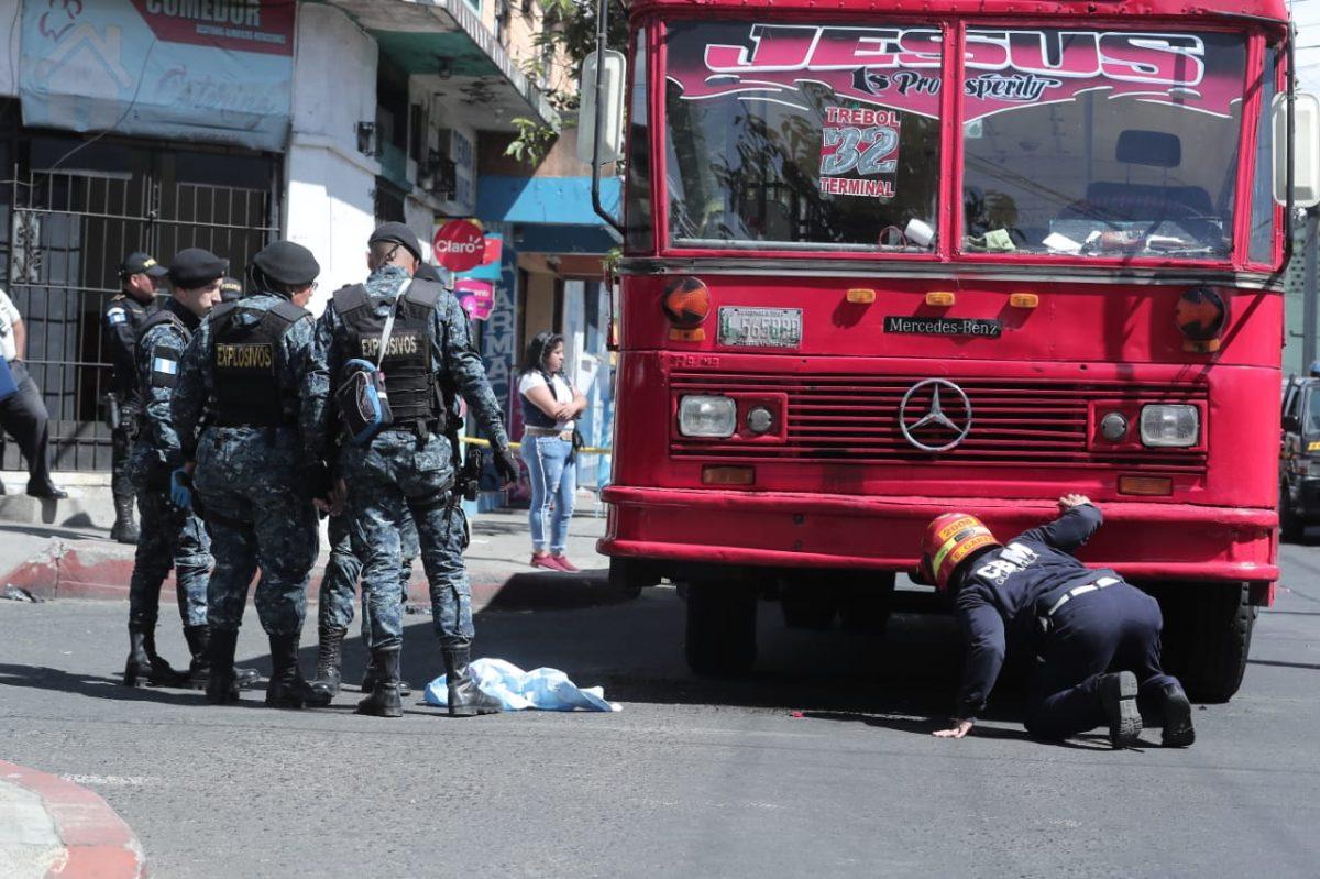Pandilla Barrio 18 estaría detrás del ataque con explosivo a autobús en la Quinta Samayoa