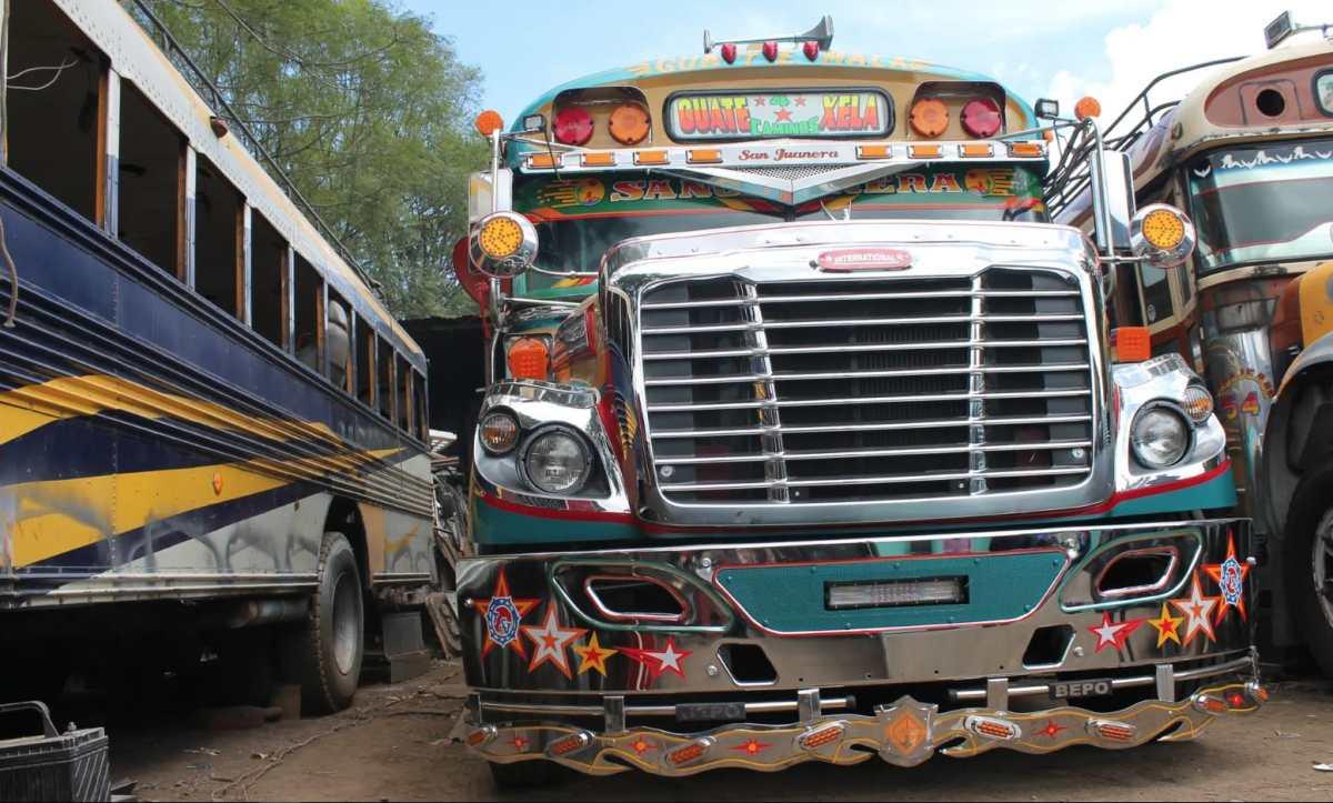 Cacharros zombis: ¿su autobús local ha resucitado en Guatemala?