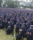 Director de la Policía reconoce que persisten renuncias de agentes para buscar mejores oportunidades de trabajo. (Foto Prensa Libre: Hemeroteca PL)