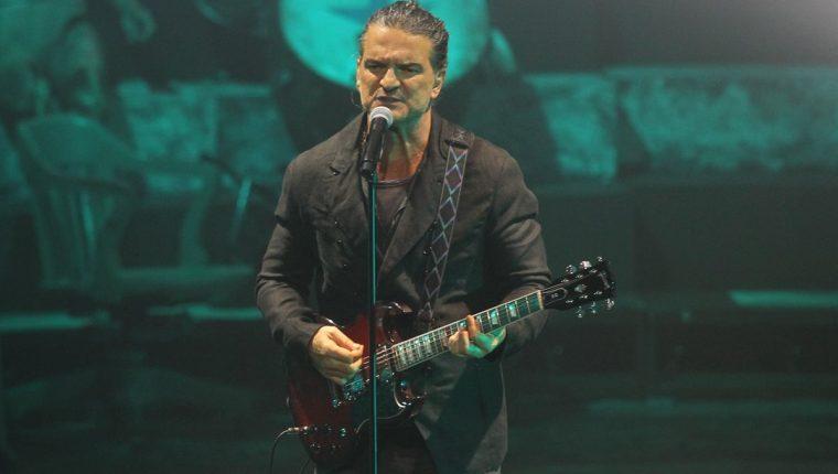 El cantante guatemalteco Ricardo Arjona se encuentra en la gira de promoción de su disco Circo Soledad. (Foto Prensa Libre: Keneth Cruz)