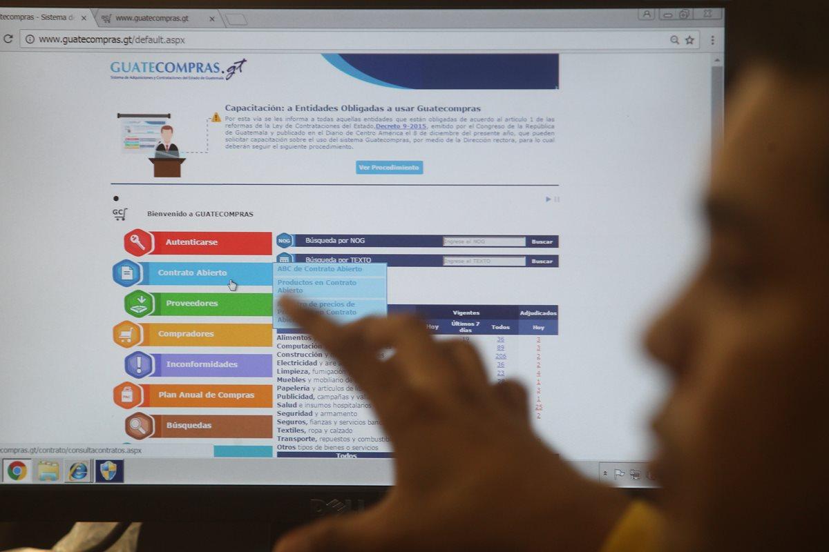 Los cambios en Guatecompras que prometen mayor transparencia