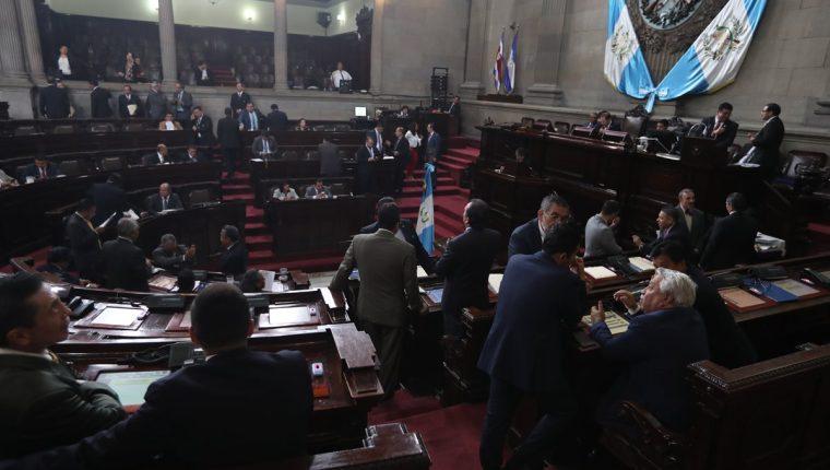 Los jefes de bloques acordaron agendar las reformas a la Ley en Materia de Antejuicio para su primer y segundo debate. (Foto Prensa Libre: Hemeroteca PL)