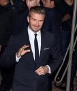 El exfutbolista David Beckham asegura que los jugadores en el Real Madrid cuidan mucho su imagen. (Foto Prensa Libre: AFP)
