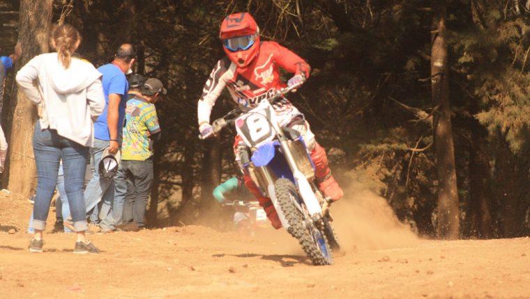Vicko Castillo falleció el fin de semana luego de sufrir un accidente, durante la primera fecha del Campeonato Nacional de Motocrós. (Foto Prensa Libre: cortesía)
