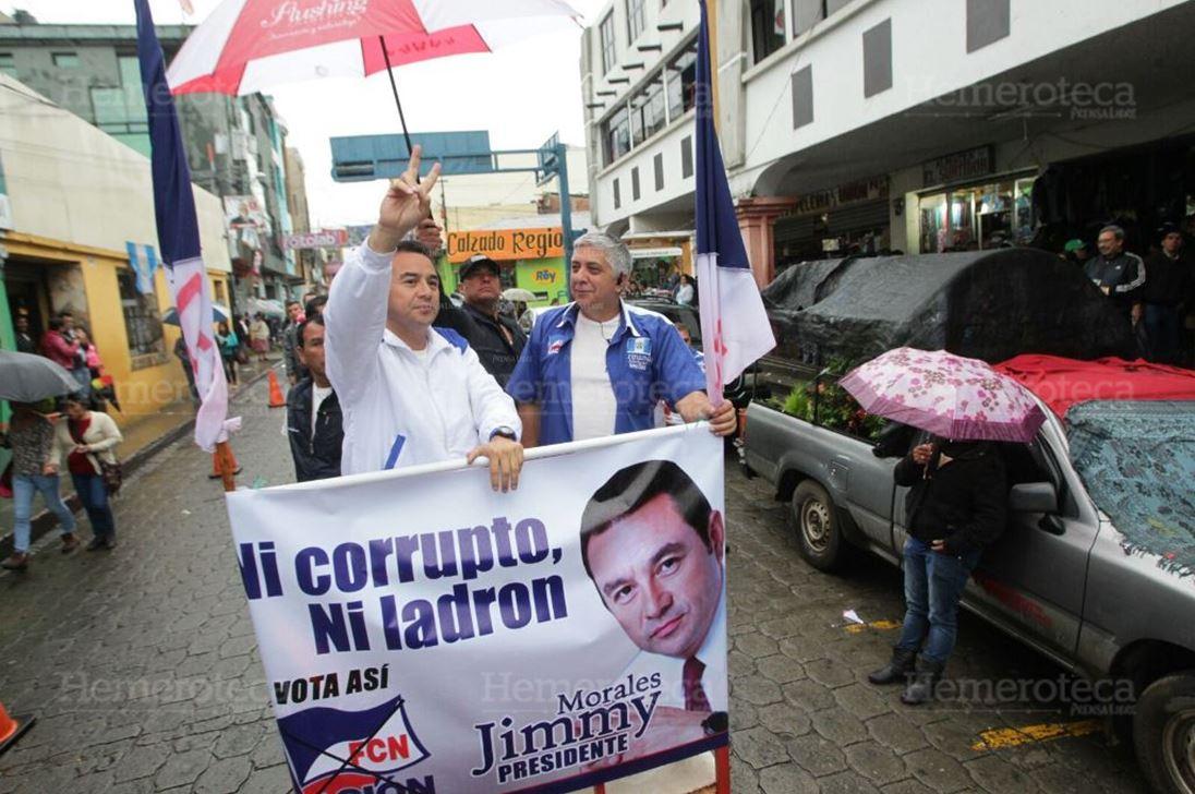 El presidente Jimmy Morales solicitó a la PGN revisar el mandato de la Comisión Internacional contra la Impunidad en Guatemala. (Foto Prensa Libre: Hemeroteca Pl)