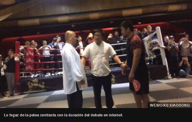 Taichí vs. MMA: la pelea de 20 segundos que dejó malherido al orgullo de China
