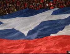 Los aficionados chilenos han sido sancionados repetidas veces desde que comenzaron las eliminatorias en 2015. (Foto Prensa Libre: BBC Mundo)