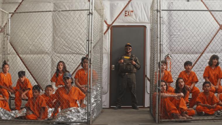 The Black Eyed Peas volvieron a la escena musical con un clip que critica el trato a los migrantes en Estados Unidos (Foto Prensa Libre: YouTube).