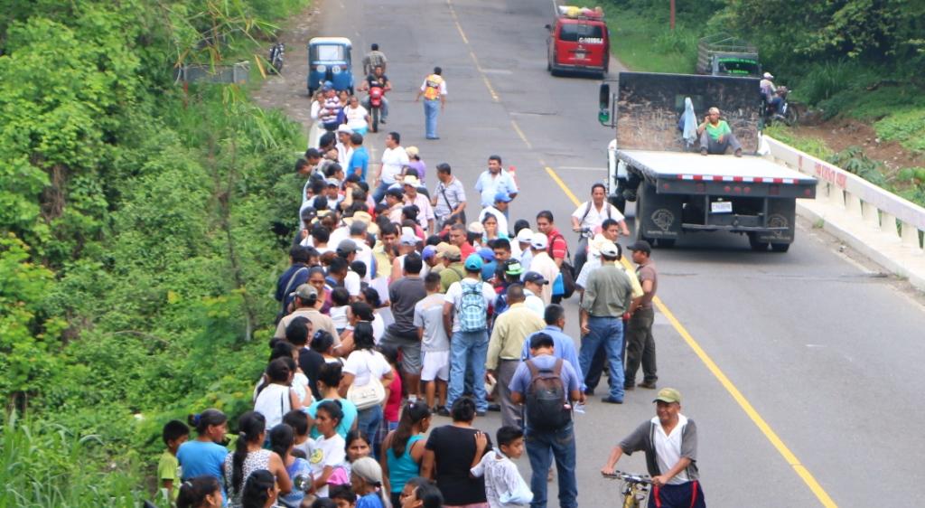 Pobladores rechazan construcción de hidroeléctrica