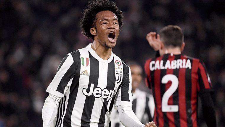 Cuadrado es una baja importante en la Juventus por una lesión. (Foto Prensa Libre: Hemeroteca PL)