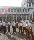 La Corte Suprema de Justicia informó que reforzaran la seguridad en los tribunales ante la llegada de implicados en caso de alto impacto. (Foto Prensa Libre: Hemeroteca PL)