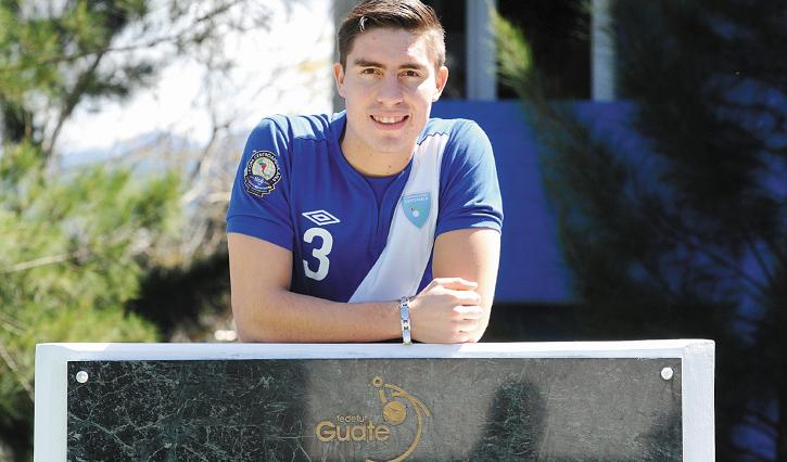 Elías Enoc Vásquez ha sido uno de los jugadores destacados del futbol guatemalteco. (Foto Prensa Libre: Hemeroteca PL)