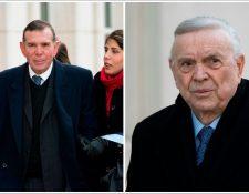 Juan Ángel Napout y José María Marín defendían su inocencia en el caso Fifa. (Foto Prensa Libre: Agencias)